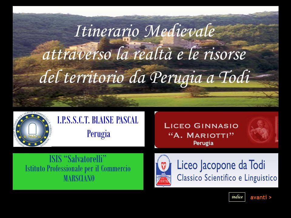 attraverso la realtà e le risorse del territorio da Perugia a Todi