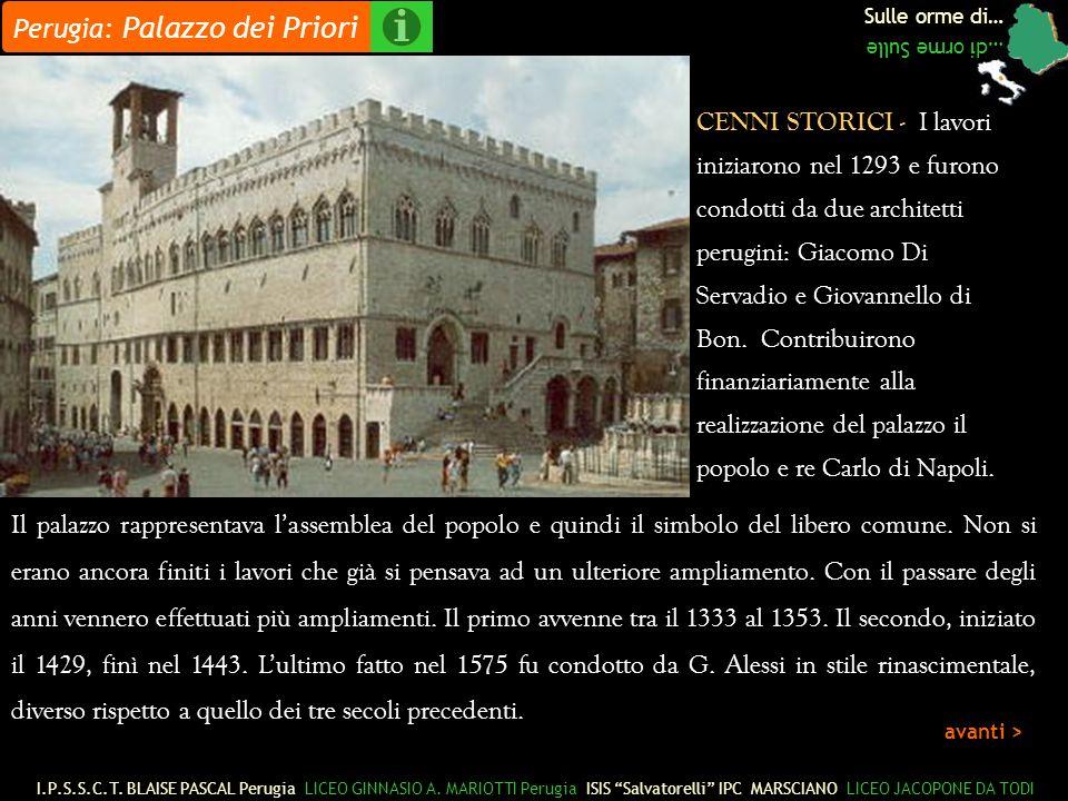 Perugia: Palazzo dei Priori