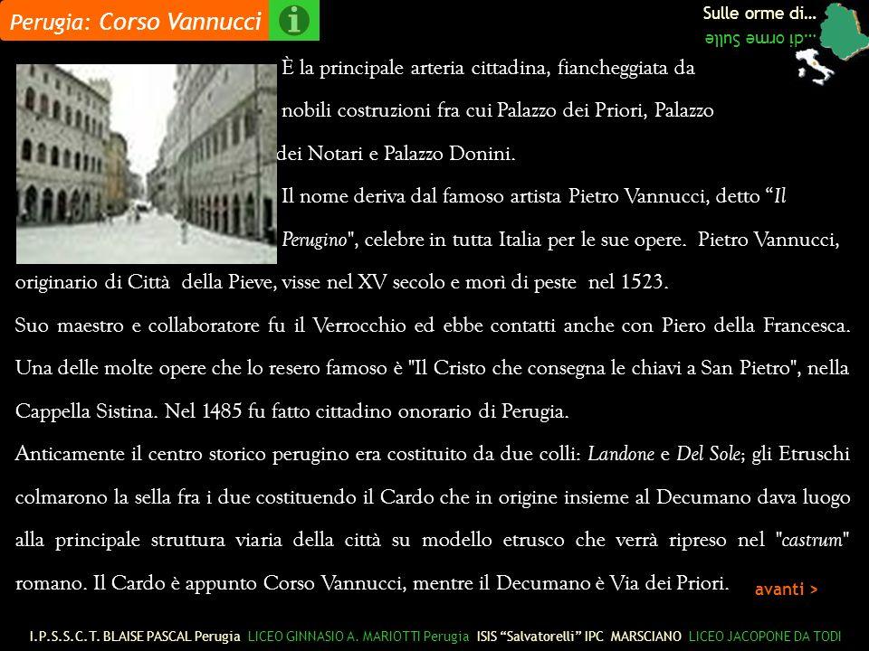 Perugia: Corso Vannucci