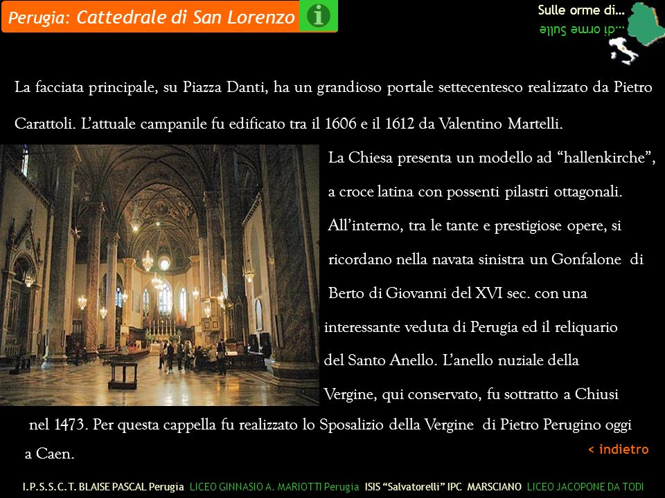 Perugia: Cattedrale di San Lorenzo