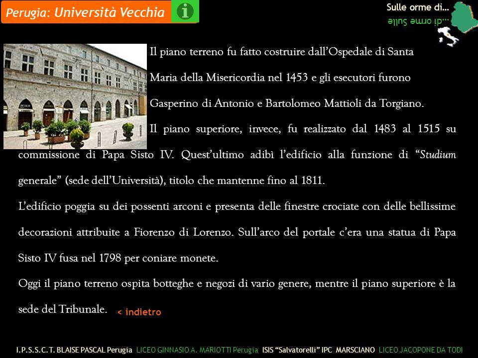 Perugia: Università Vecchia