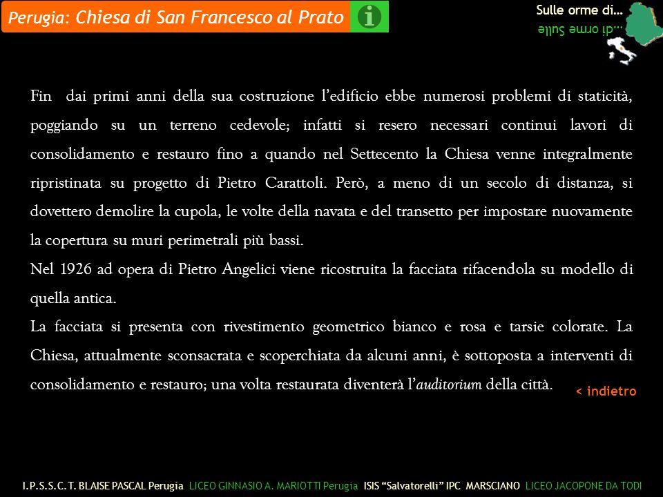 Perugia: Chiesa di San Francesco al Prato