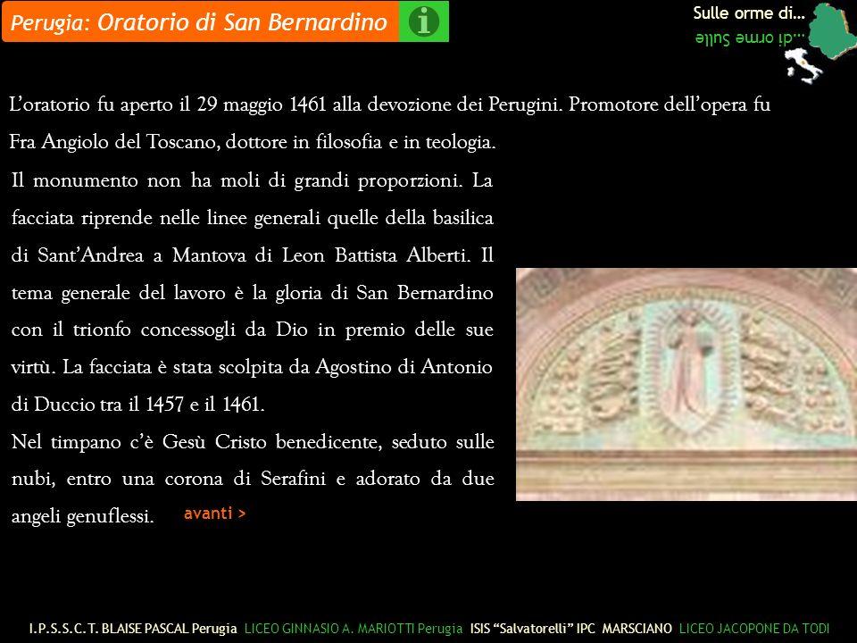 Perugia: Oratorio di San Bernardino