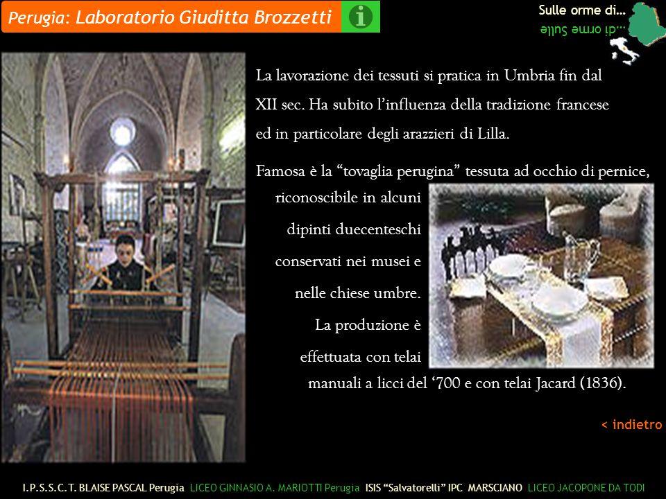 Perugia: Laboratorio Giuditta Brozzetti