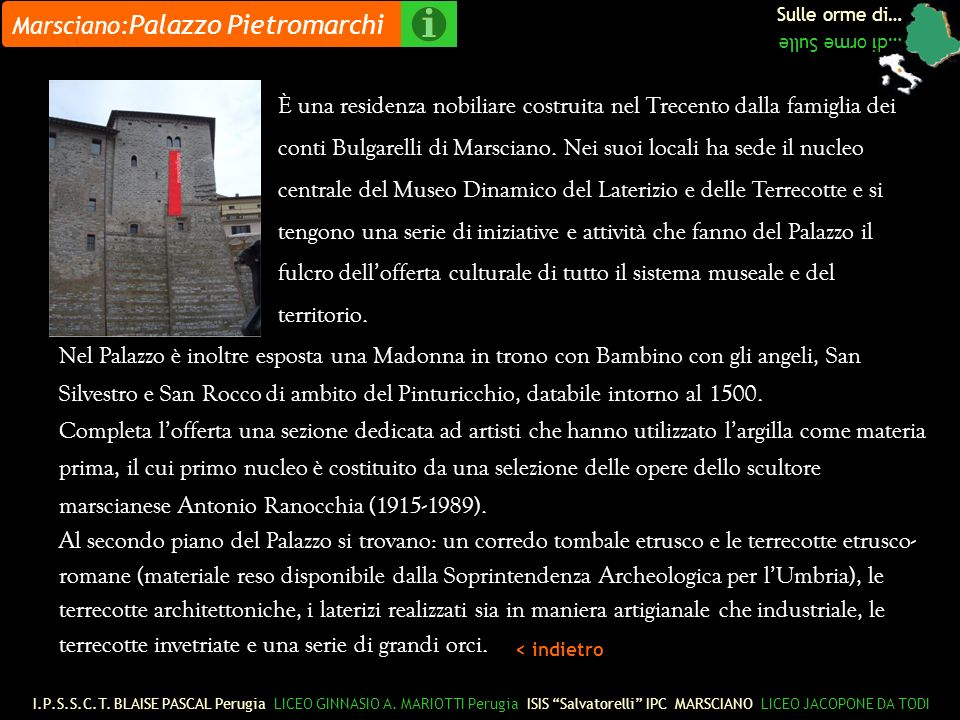 Marsciano:Palazzo Pietromarchi