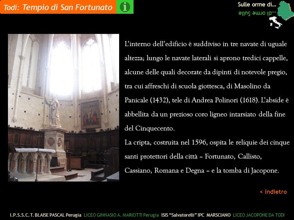 Todi: Tempio di San Fortunato