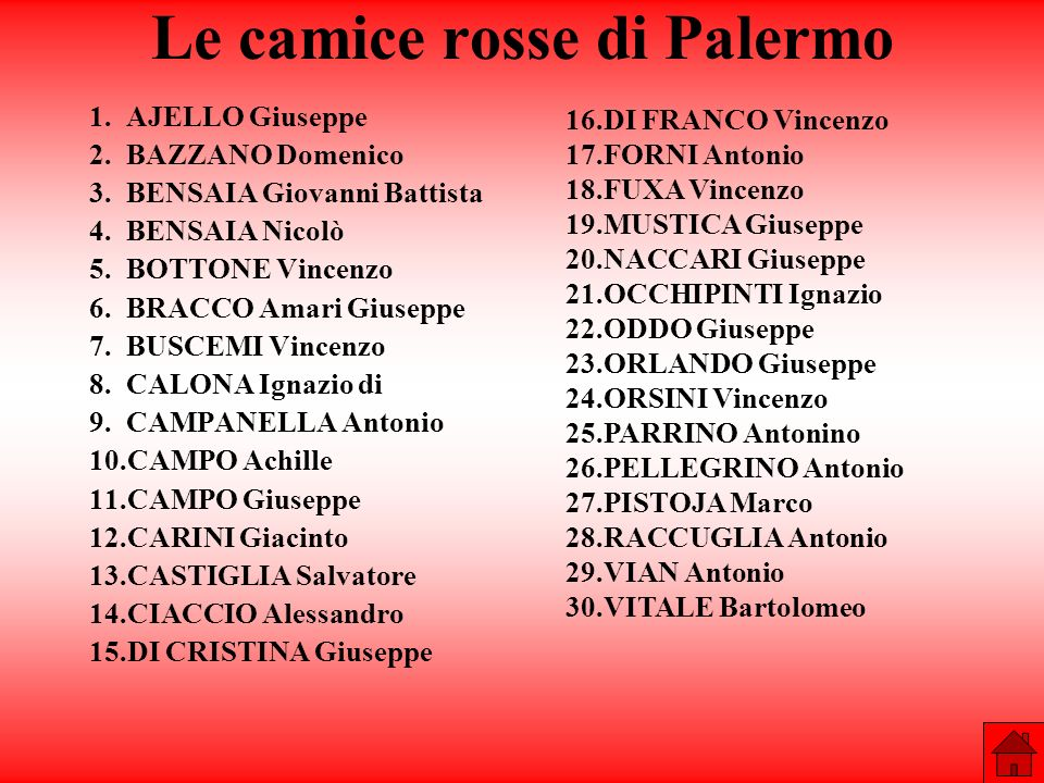 Le camice rosse di Palermo
