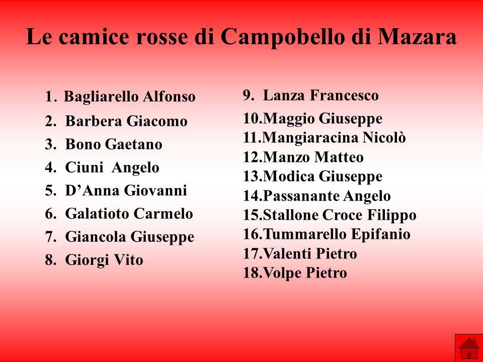 Le camice rosse di Campobello di Mazara