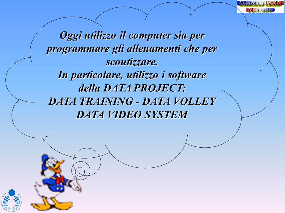 In particolare, utilizzo i software della DATA PROJECT: