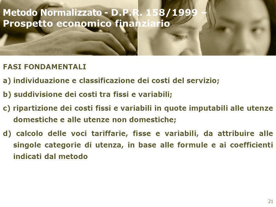 Metodo Normalizzato - D. P. R