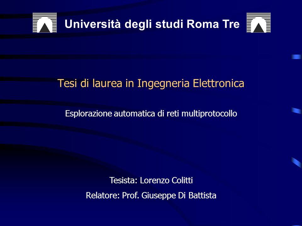 Tesi di laurea in Ingegneria Elettronica