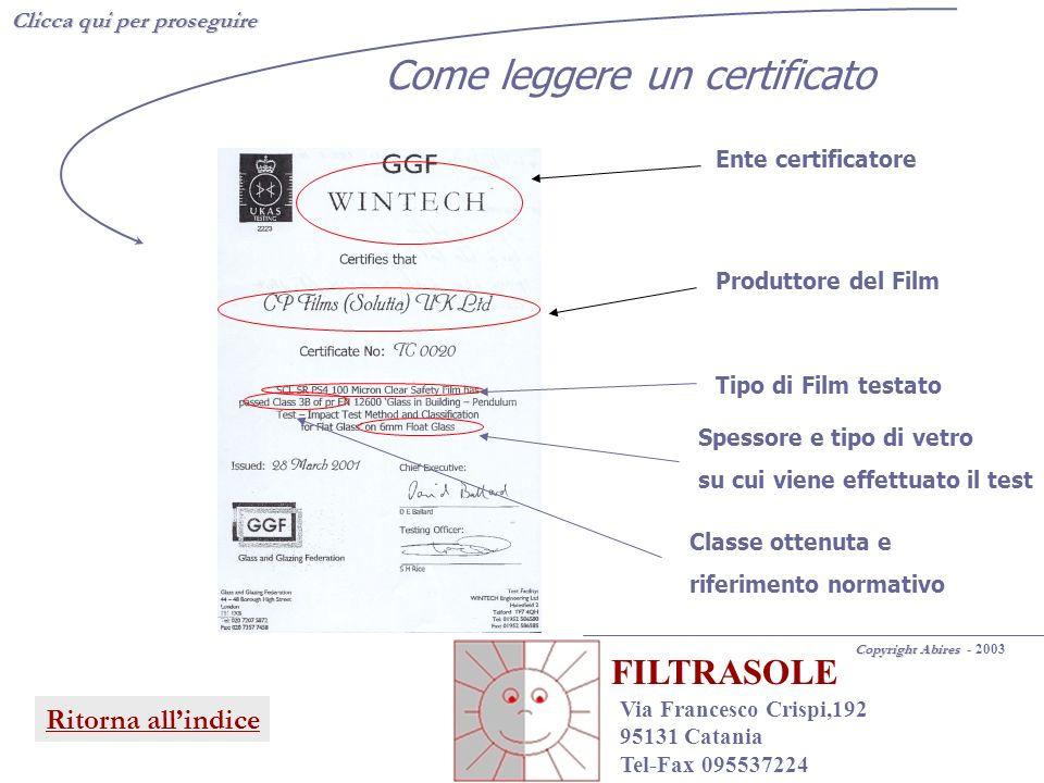 Come leggere un certificato