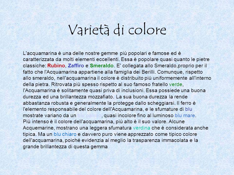 Varietà di colore