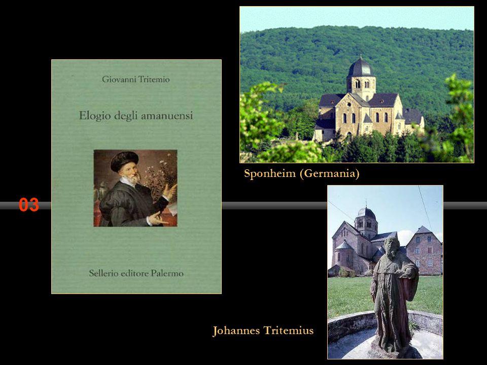 Sponheim (Germania) 03 Johannes Tritemius