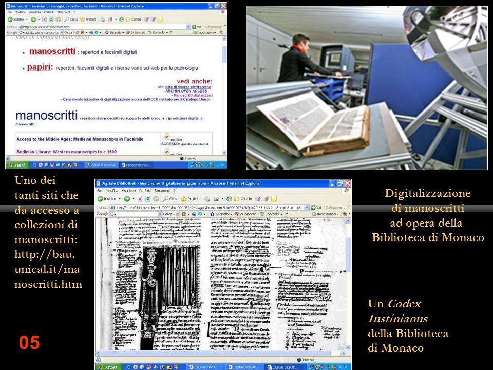 Uno dei tanti siti che da accesso a collezioni di manoscritti: http://bau.unical.it/manoscritti.htm