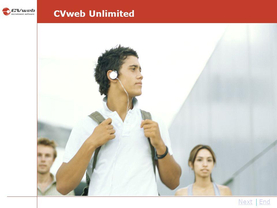 CVweb Unlimited Next End