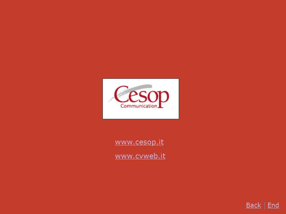 www.cesop.it www.cvweb.it Back End