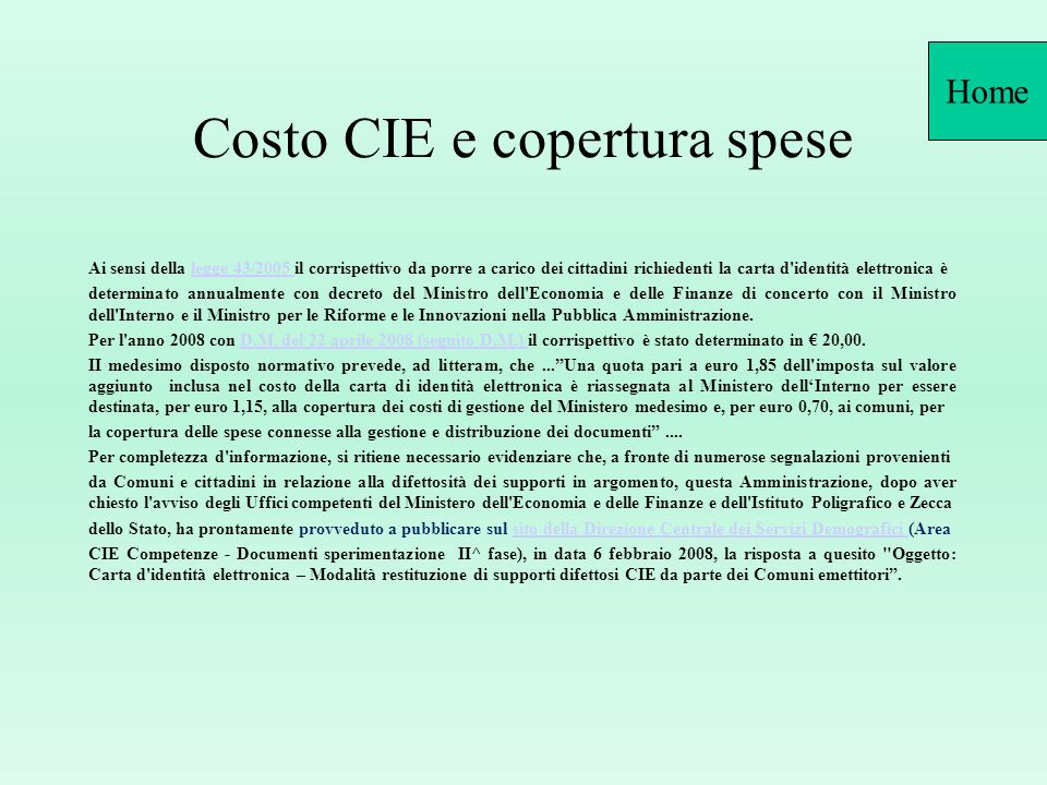 risposte ai quesiti pi frequenti dell area c i e ppt
