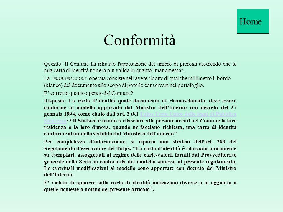 HomeConformità.