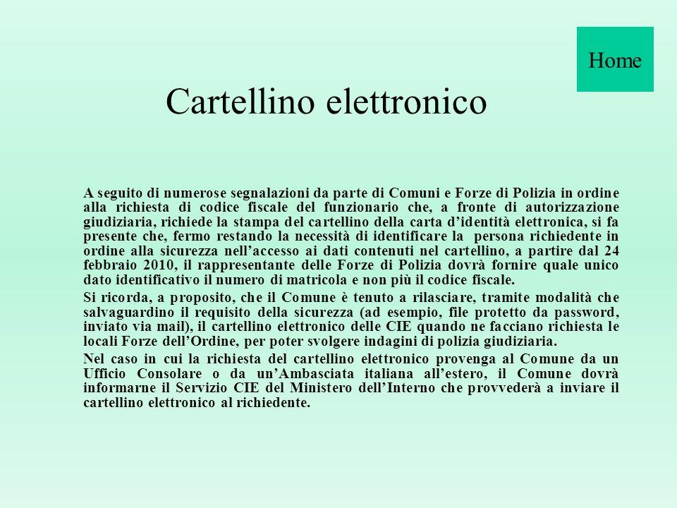 Cartellino elettronico