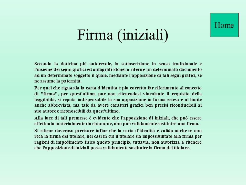 HomeFirma (iniziali)