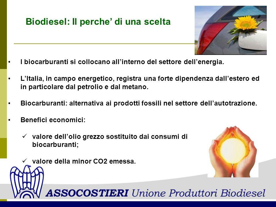 Biodiesel: Il perche' di una scelta