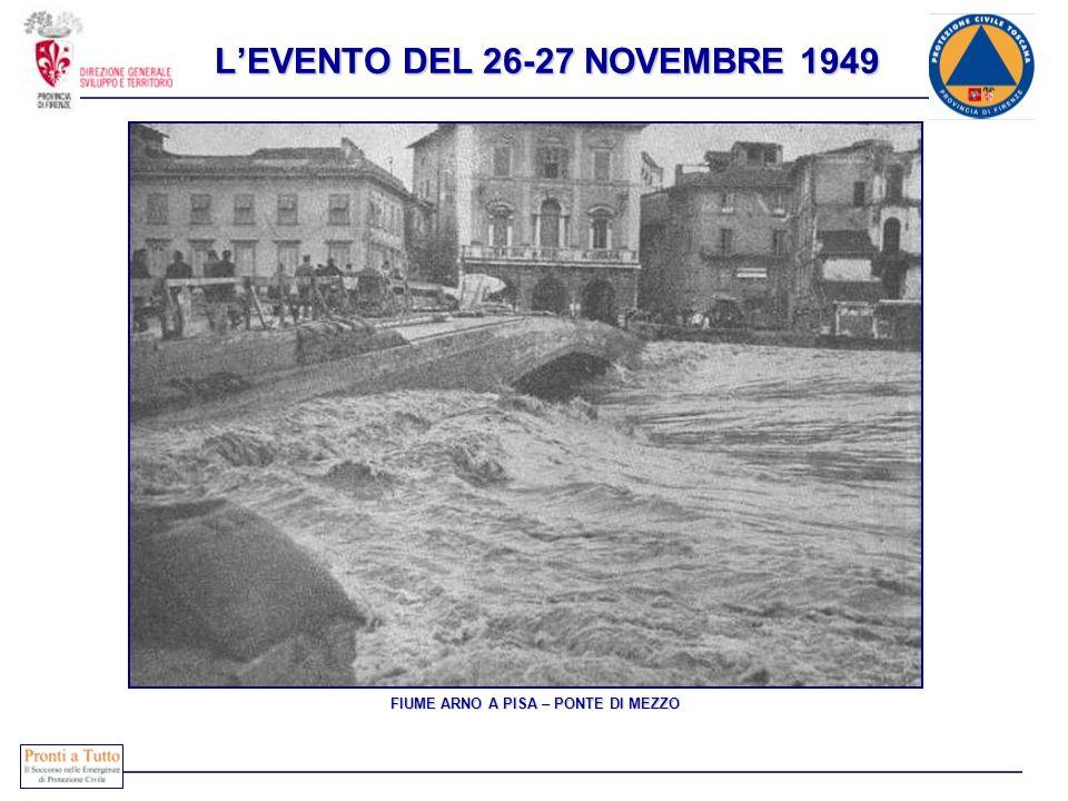L'EVENTO DEL 26-27 NOVEMBRE 1949