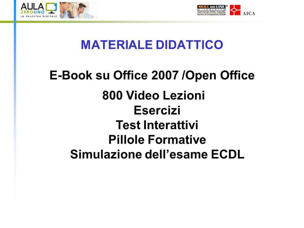 E-Book su Office 2007 /Open Office