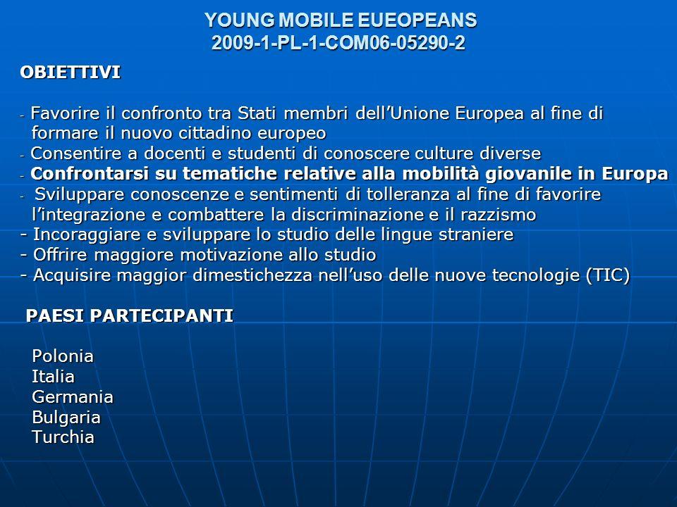 YOUNG MOBILE EUEOPEANS 2009-1-PL-1-COM06-05290-2