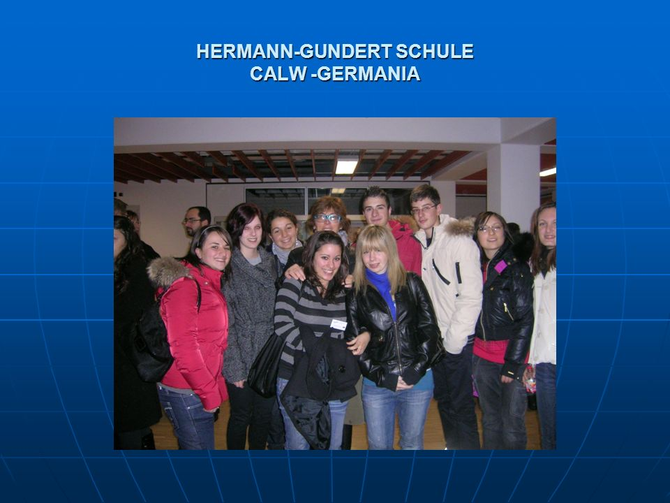 HERMANN-GUNDERT SCHULE CALW -GERMANIA