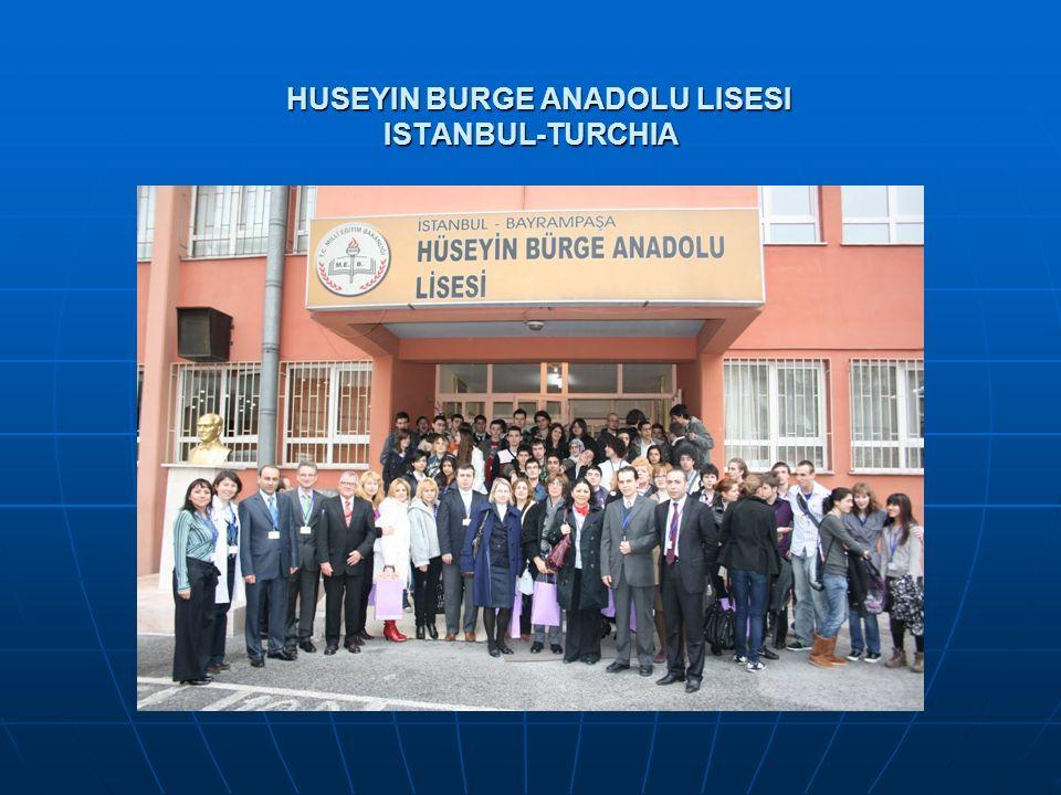 HUSEYIN BURGE ANADOLU LISESI ISTANBUL-TURCHIA