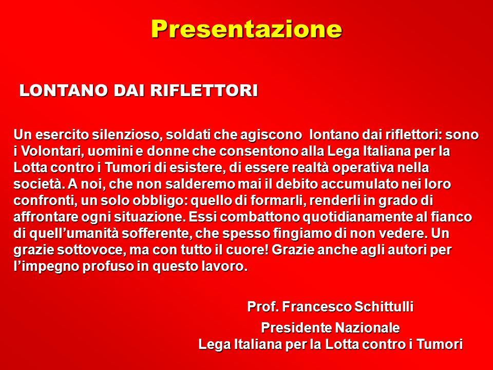 Presentazione LONTANO DAI RIFLETTORI