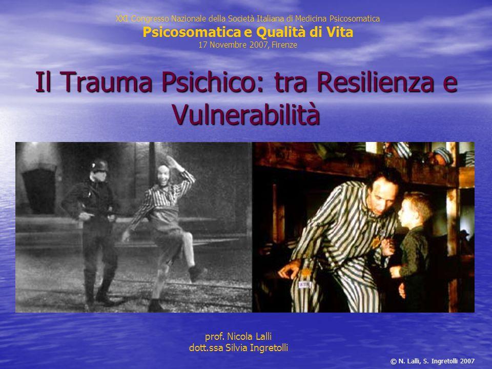 Il Trauma Psichico: tra Resilienza e Vulnerabilità