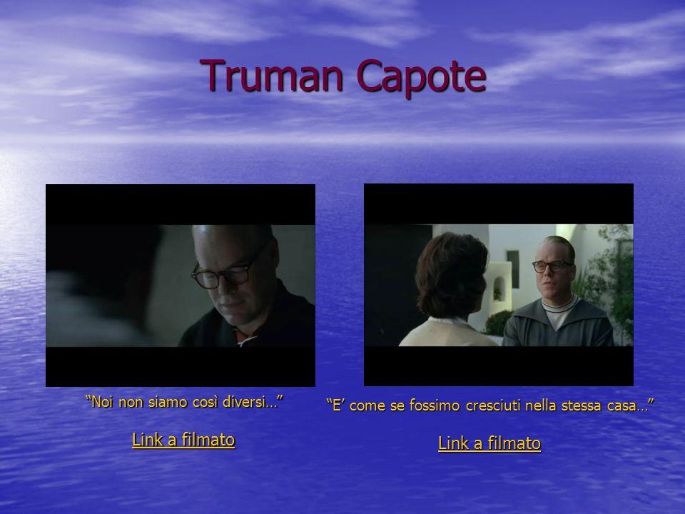 Truman Capote Link a filmato Link a filmato