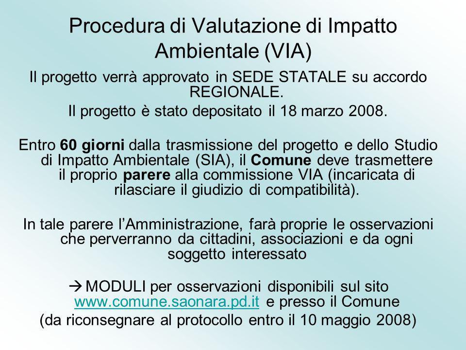 Procedura di Valutazione di Impatto Ambientale (VIA)