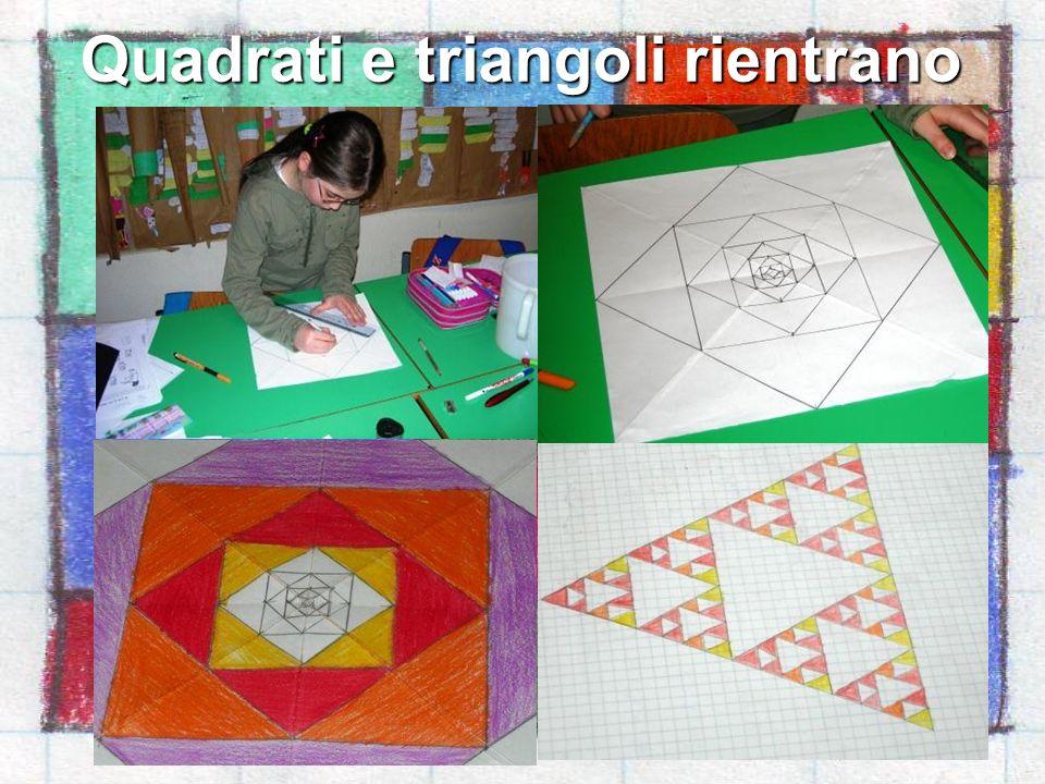 Quadrati e triangoli rientrano