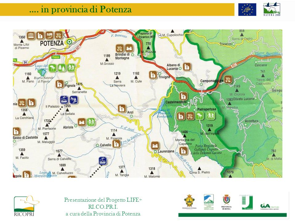 …. in provincia di Potenza