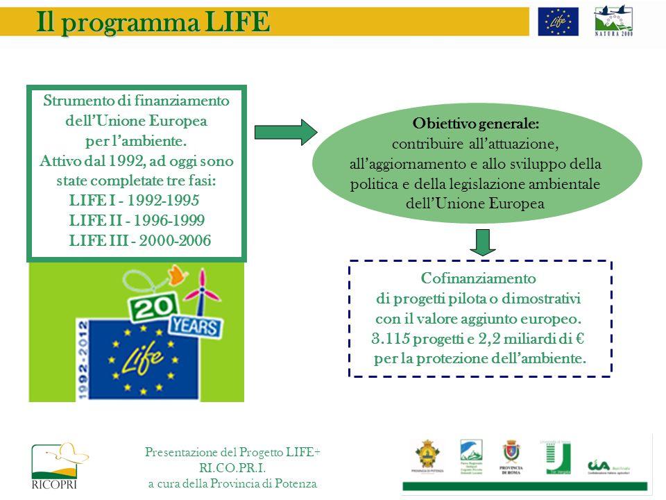 Il programma LIFE Strumento di finanziamento dell'Unione Europea