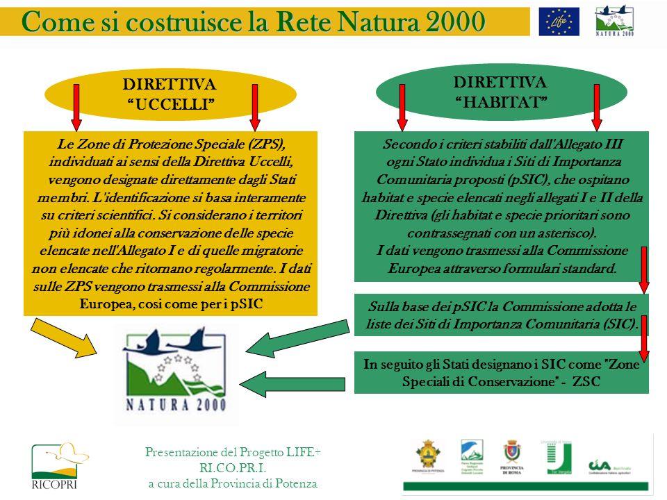 Come si costruisce la Rete Natura 2000