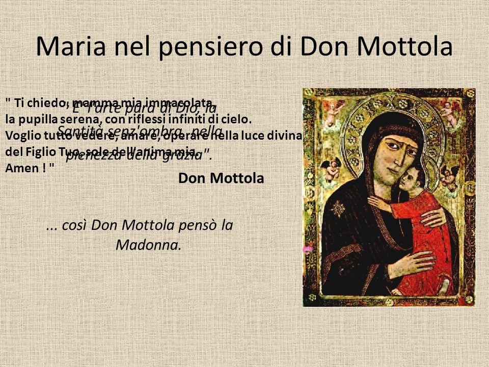 Maria nel pensiero di Don Mottola
