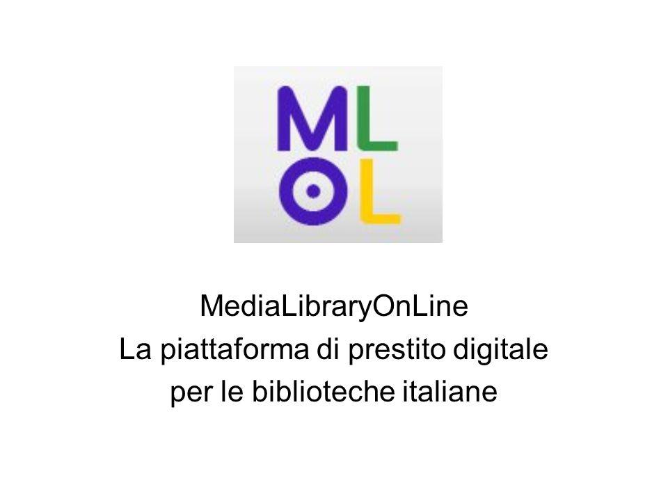 La piattaforma di prestito digitale per le biblioteche italiane