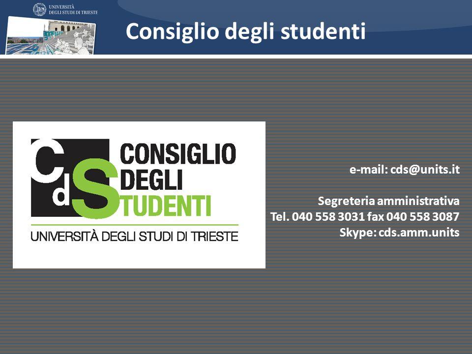Consiglio degli studenti
