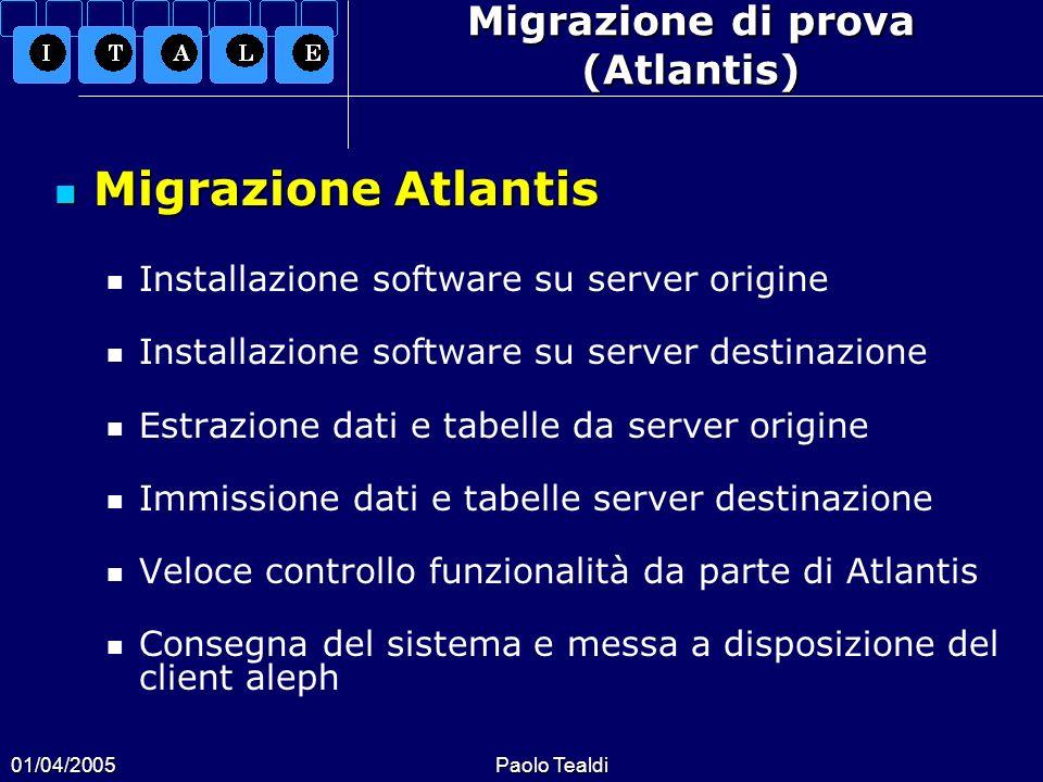 Migrazione di prova (Atlantis)
