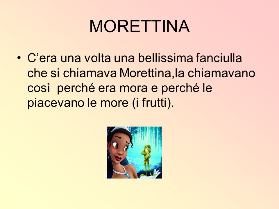 MORETTINA