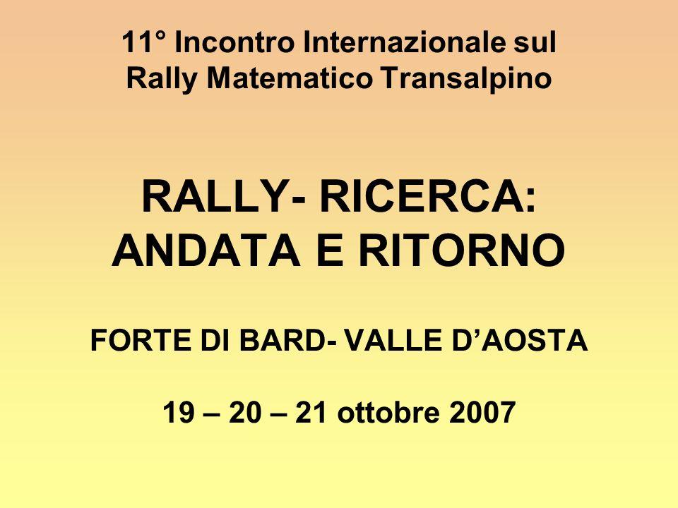 11° Incontro Internazionale sul FORTE DI BARD- VALLE D'AOSTA