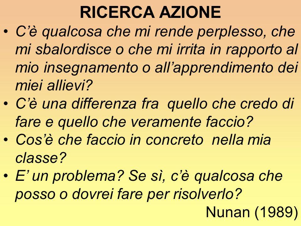 RICERCA AZIONE