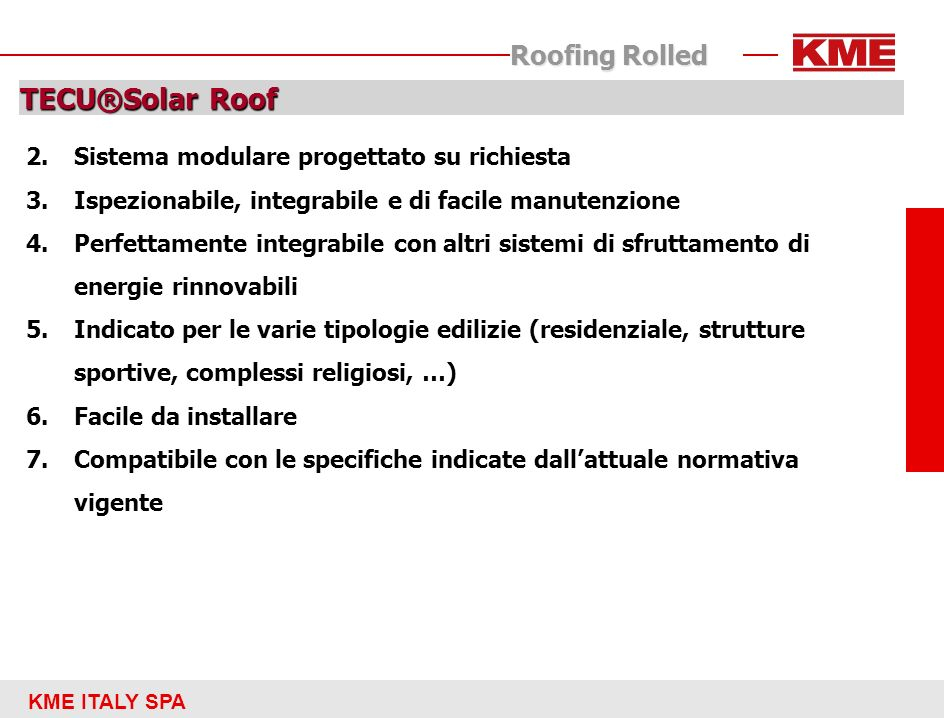 TECU®Solar Roof Roofing Rolled