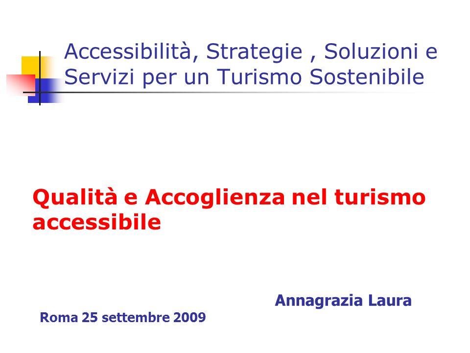Qualità e Accoglienza nel turismo accessibile