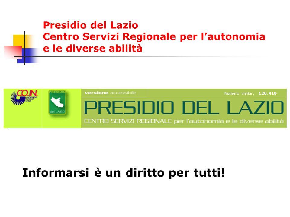 First Informarsi è un diritto per tutti! Presidio del Lazio