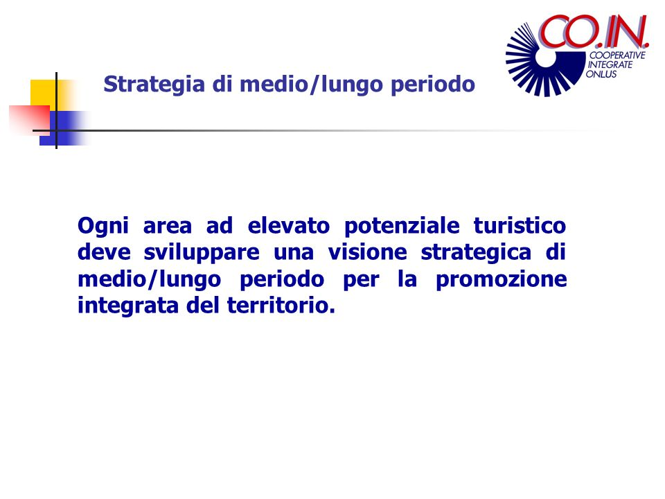 Strategia di medio/lungo periodo